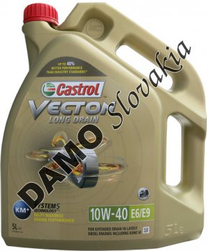 CASTROL VECTON LONG DRAIN 10W-40 E6/E9 - 5l