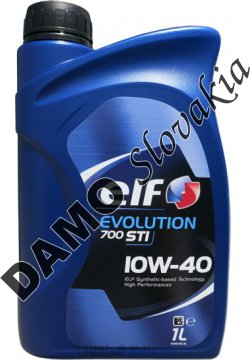 ELF EVOLUTION 700 STI 10W-40 - 1l