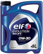 ELF EVOLUTION 900 FT 0W-30 - 4l