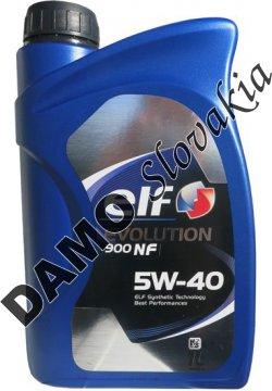 ELF EVOLUTION 900 NF 5W-40 - 1l