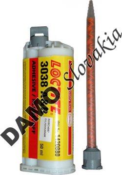 Loctite 3038 50ml - akrylátové konštrukčné lepidlo, lepí polyolefíny