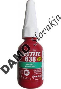 Loctite 638 10ml - upevňovač valcových dielov, univerzálny