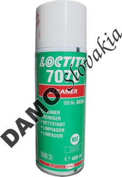 Loctite 7070 400ml - čistič plastov
