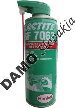 Loctite SF 7063 400ml - univerzálny rýchločistič, odmasťovač