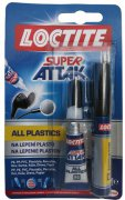 LOCTITE SUPER ATTAK ALL PLASTICS 2g - lepidlo na plasty