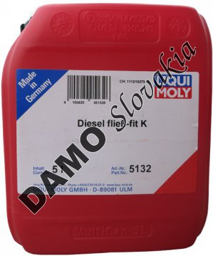 Prísada proti zamŕzaniu nafty - 5l