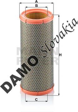Vzduchový filter C 1184