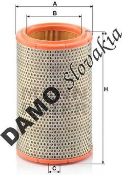 Vzduchový filter MANN FILTER C 1387