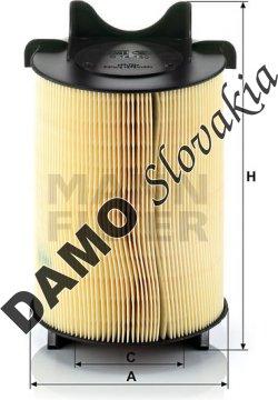 Vzduchový filter MANN FILTER C 14 130