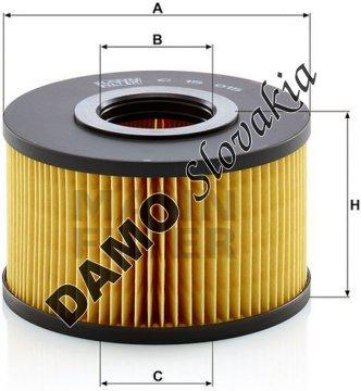 Vzduchový filter MANN FILTER C 15 015