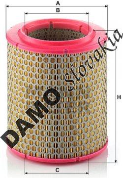Vzduchový filter MANN FILTER C 17 129