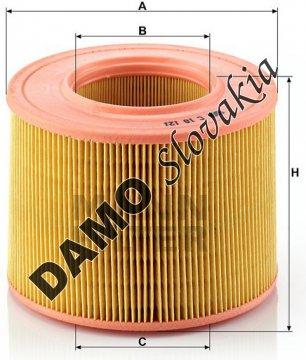 Vzduchový filter MANN FILTER C 18 121