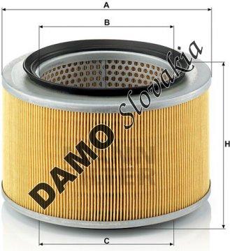Vzduchový filter MANN FILTER C 1980