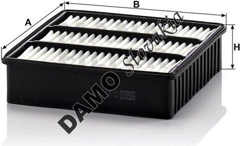 Vzduchový filter C 2136/1