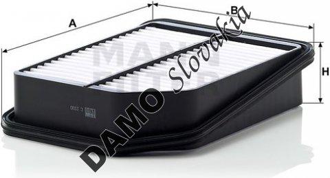 Vzduchový filter C 2330