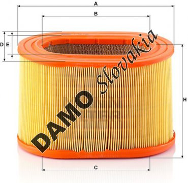Vzduchový filter C 24 135