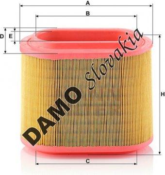 Vzduchový filter MANN FILTER C 24 196