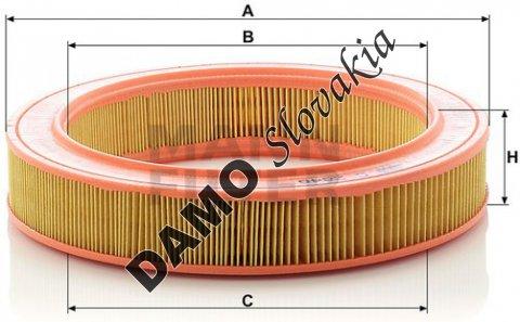 Vzduchový filter C 2846