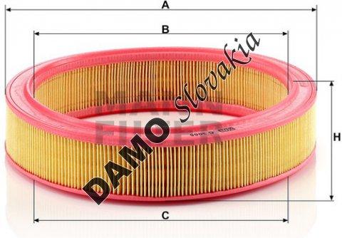 Vzduchový filter C 3055