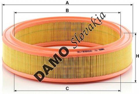 Vzduchový filter C 3082/5
