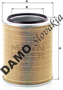 Vzduchový filter C 30 703/1