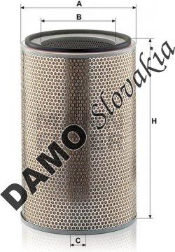 Vzduchový filter C 31 1226