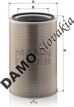 Vzduchový filter C 31 1226/1