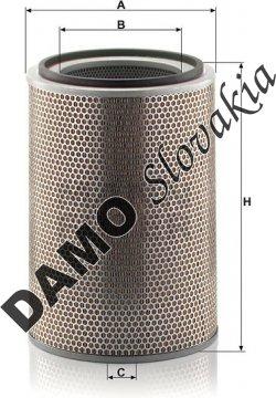 Vzduchový filter C 31 1238