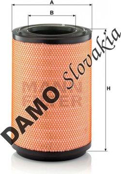 Vzduchový filter MANN FILTER C 31 1254