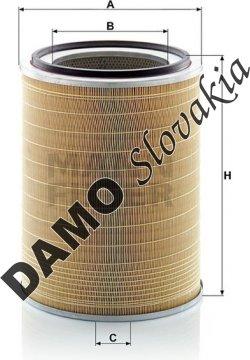 Vzduchový filter C 31 1256/2