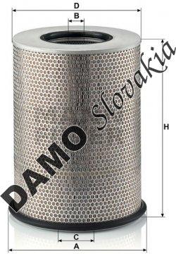 Vzduchový filter C 31 1345