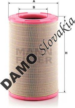 Vzduchový filter C 31 1414