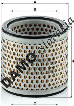Vzduchový filter C 914