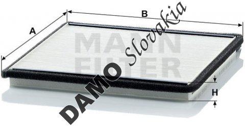 Kabínový filter CU 2225