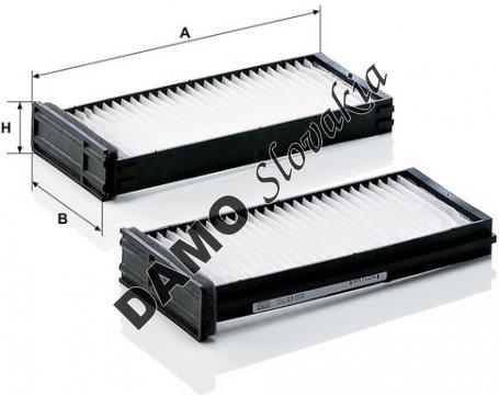 Kabínový filter CU 23 000-2