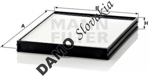 Kabínový filter CU 2628