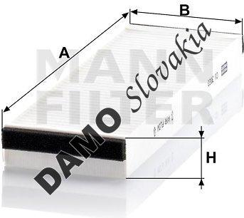 Kabínový filter CU 3023-2