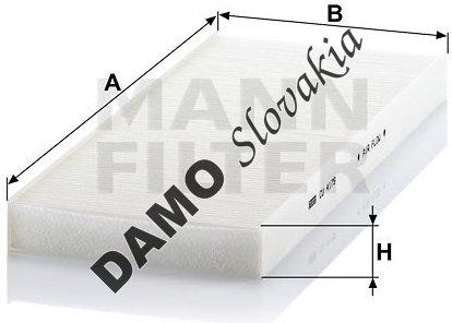 Kabínový filter MANN FILTER CU 4179