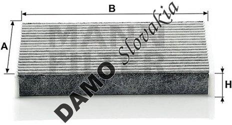 Kabínový filter CUK 1611
