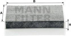 Kabínový filter MANN FILTER CUK 1611