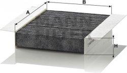 Kabínový filter MANN FILTER CUK 1820-2