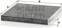 Kabínový filter MANN FILTER CUK 18 002