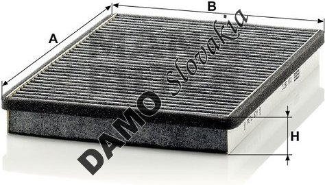 Kabínový filter CUK 2672