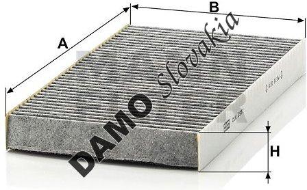 Kabínový filter CUK 2951