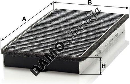 Kabínový filter CUK 3340