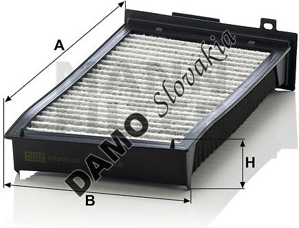 Kabínový filter CUK 3518