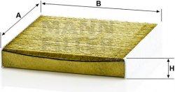 Kabínový filter FP 1827