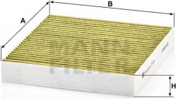 Kabínový filter FP 2141