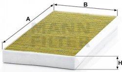 Kabínový filter MANN FILTER FP 4054