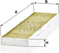 Kabínový filter MANN FILTER FP 4436
